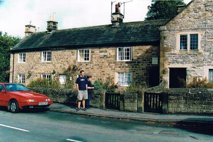 Eyam plague cottages